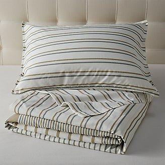 Cooper Stripe Duvet/Sham Set in Multi