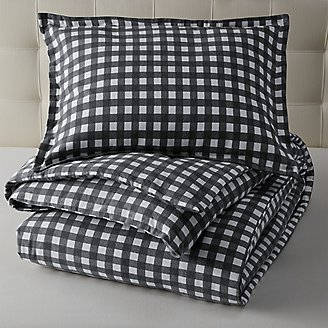 Preston Flannel Comforter/Sham Set in Gray
