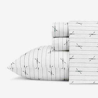 Downstream 200 Thread-Count Sheet Set in White