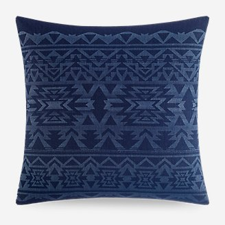 Crescent Lake Deco Pillow in Blue