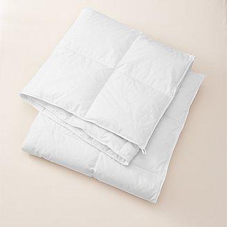 Signature Medium Down Comforter in White