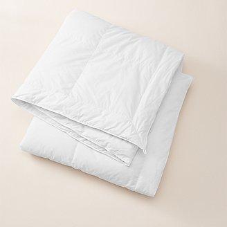 Rainier Light Down Comforter in White