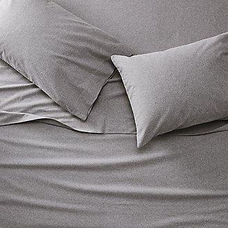 Flannel Sheet Set - Heather in Gray