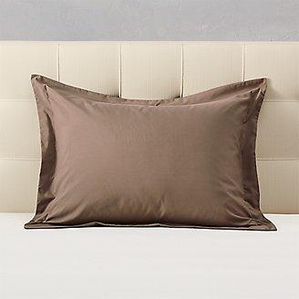 Cascade Pillow Sham in Beige