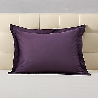Cascade Pillow Sham in Purple