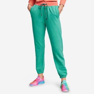 Women's Eddie Bauer x karla Knit Sweatpants in Green