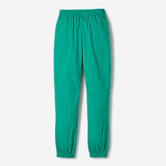 Women's Eddie Bauer x karla Woven Sweatpants in Green