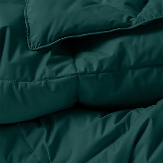 Cascade Down Comforter - Colored in Green