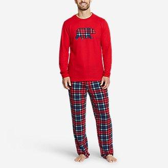 Men's Sleep Set in Red