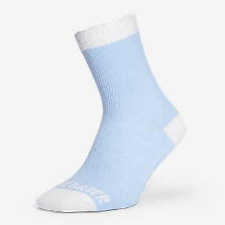Women's Fireside Lounge Socks in Blue