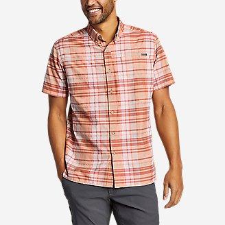 Men's Rainier Short-Sleeve Shirt in Orange