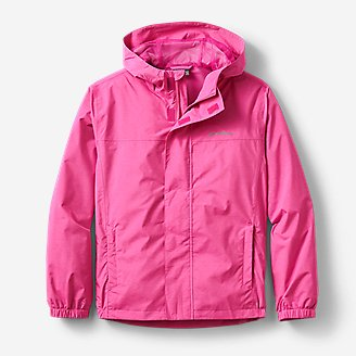 Kids' Rainfoil Jacket in Red