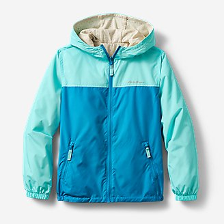 Kids' Windy Ridge Reversible Jacket in Blue