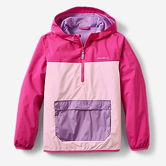 Kids' Rainfoil Anorak in Red
