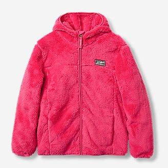 Kids' Quest Plush Fleece Hooded Jacket in Purple