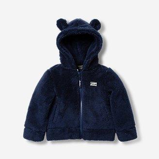 Toddler Quest Plush Fleece Hooded Jacket in Blue
