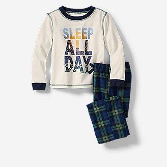 Toddler Quest Fleece Sleep Set in Green