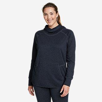 Women's Treign Pullover Hoodie in Blue