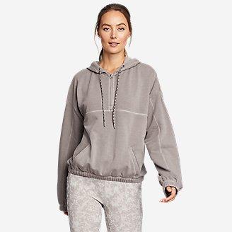 Women's Motion 1/4-Zip w/Bungee in Gray