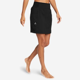 Women's Guide Ripstop Skort in Black