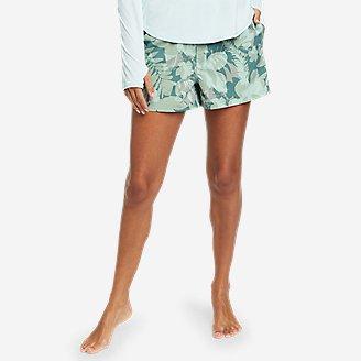 Women's Tidal Shorts - Print in Green