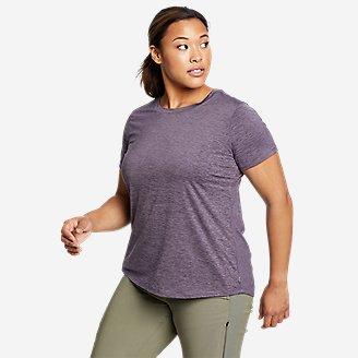 Women's Resolution Short-Sleeve T-Shirt in Purple