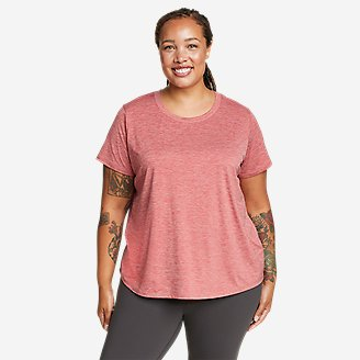 Women's Resolution Short-Sleeve T-Shirt in Red