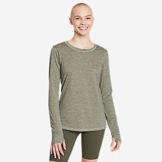Women's Resolution Long-Sleeve T-Shirt in Green