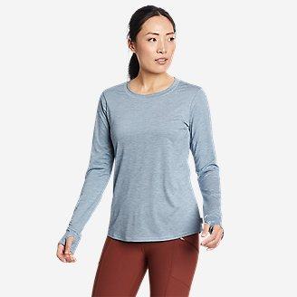 Women's Resolution Long-Sleeve T-Shirt in Blue