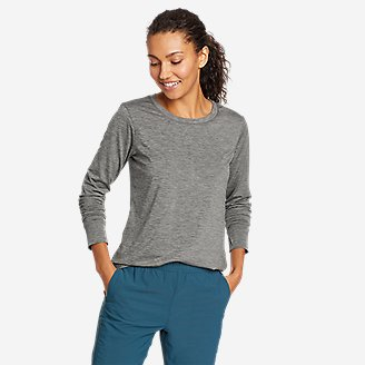 Women's Resolution Long-Sleeve T-Shirt in Gray