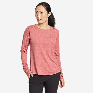 Women's Resolution Long-Sleeve T-Shirt in Red