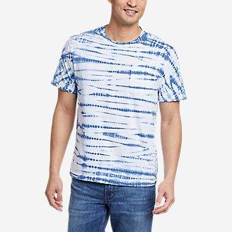 Men's Legend Wash Tie-Dye T-Shirt in White