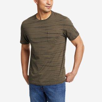 Men's Legend Wash Tie-Dye T-Shirt in Green