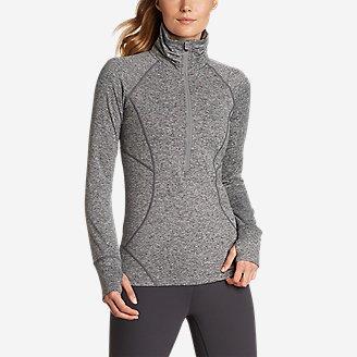 Women's Treign 1/2-Zip in Gray