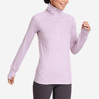 Women's Treign 1/2-Zip in Purple
