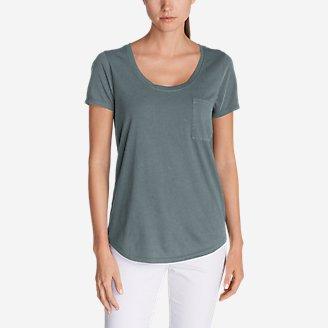 Women's Gypsum T-Shirt in Gray