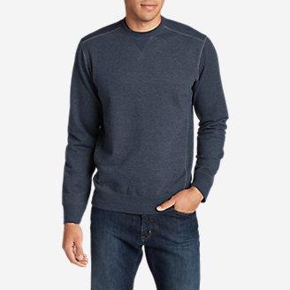 Men's Camp Fleece Crew Sweatshirt in Blue