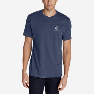 Men's Graphic T-Shirt - Bygone in Blue