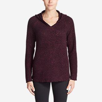 Women's Lounge Around Hoodie Sweater in Purple