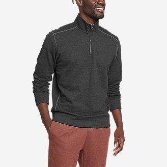 Men's Camp Fleece 1/4-Zip in Gray