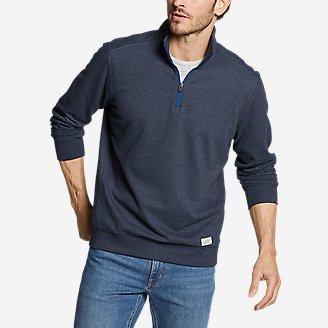 Men's Camp Fleece 1/4-Zip in Blue