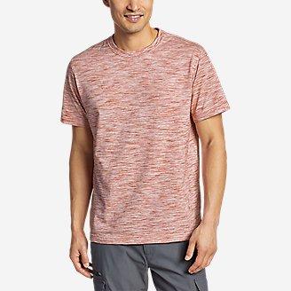 Men's Legend Wash Pro T-Shirt - Space Dye in Orange