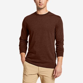 Men's Legend Wash Pro Long-Sleeve T-Shirt in Brown