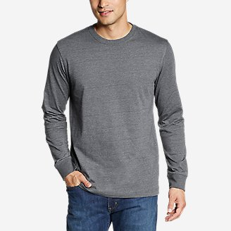 Men's Legend Wash Pro Long-Sleeve T-Shirt in Gray