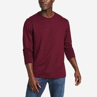 Men's Legend Wash Pro Long-Sleeve T-Shirt in Red