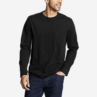Men's Legend Wash Pro Long-Sleeve Pocket T-Shirt in Black