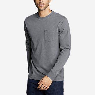 Men's Legend Wash Pro Long-Sleeve Pocket T-Shirt in Gray