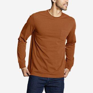 Men's Legend Wash Pro Long-Sleeve Pocket T-Shirt in Red