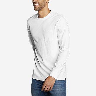 Men's Legend Wash Pro Long-Sleeve Pocket T-Shirt in White