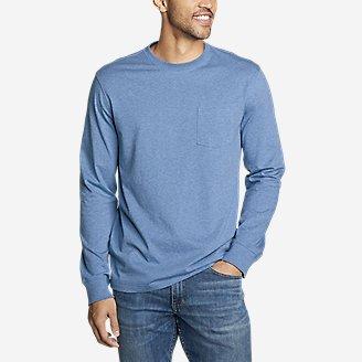 Men's Legend Wash Pro Long-Sleeve Pocket T-Shirt in Blue
